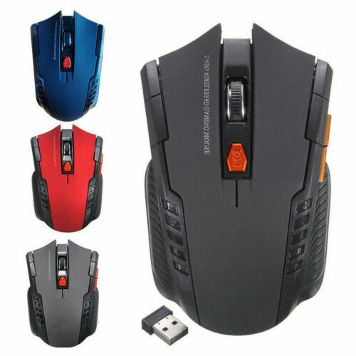 2 4ghz wireless cordless mouse mice optical