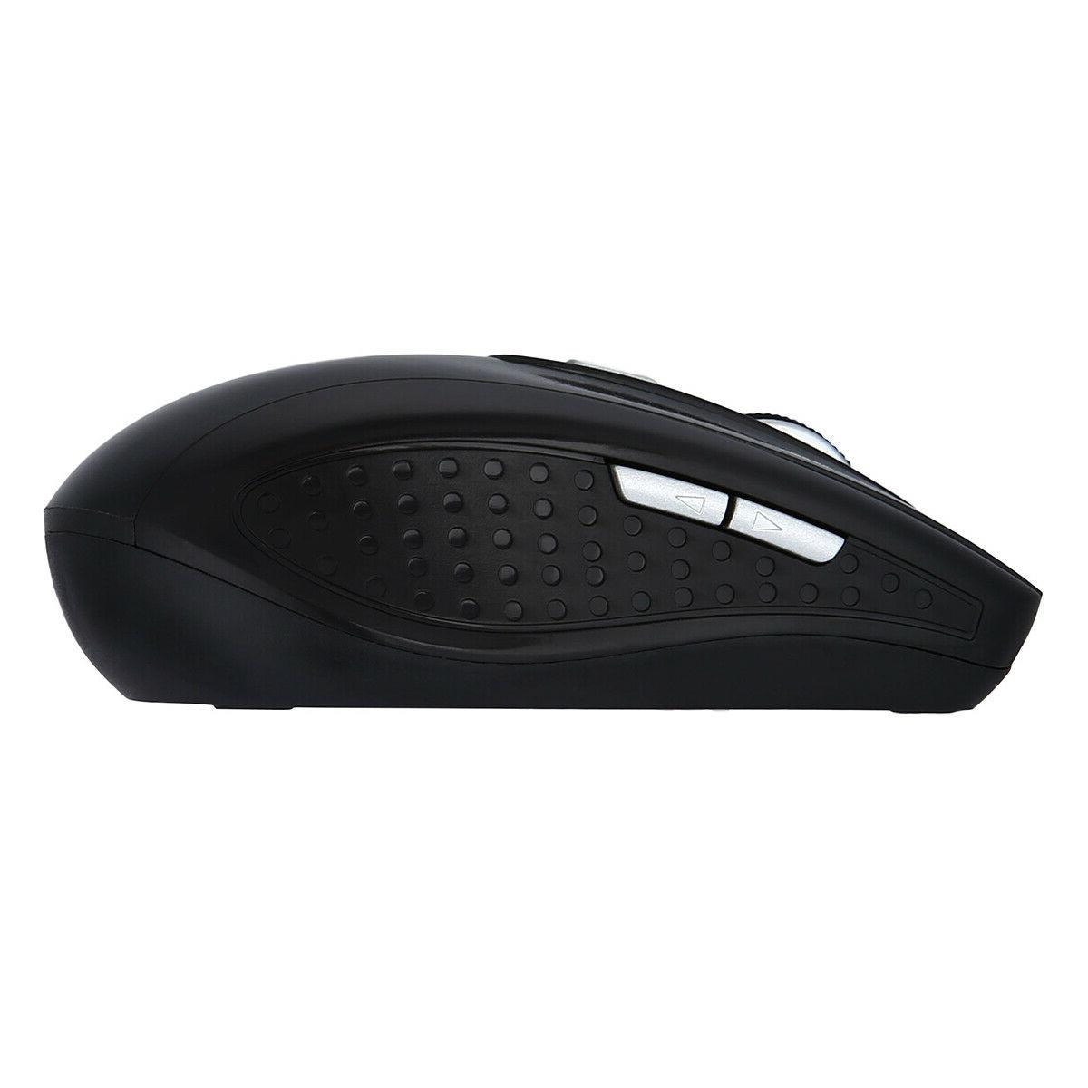 2.4GHz Wireless Gaming Mouse Mice USB Receiver for Laptop