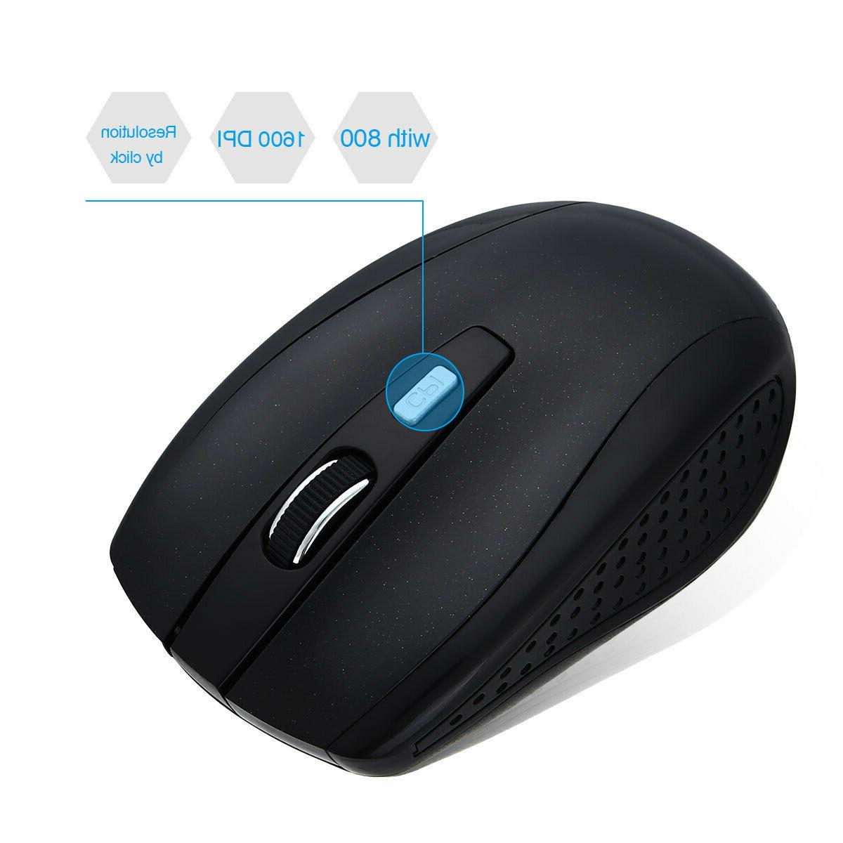 2.4GHz Wireless Gaming Mouse + Receiver