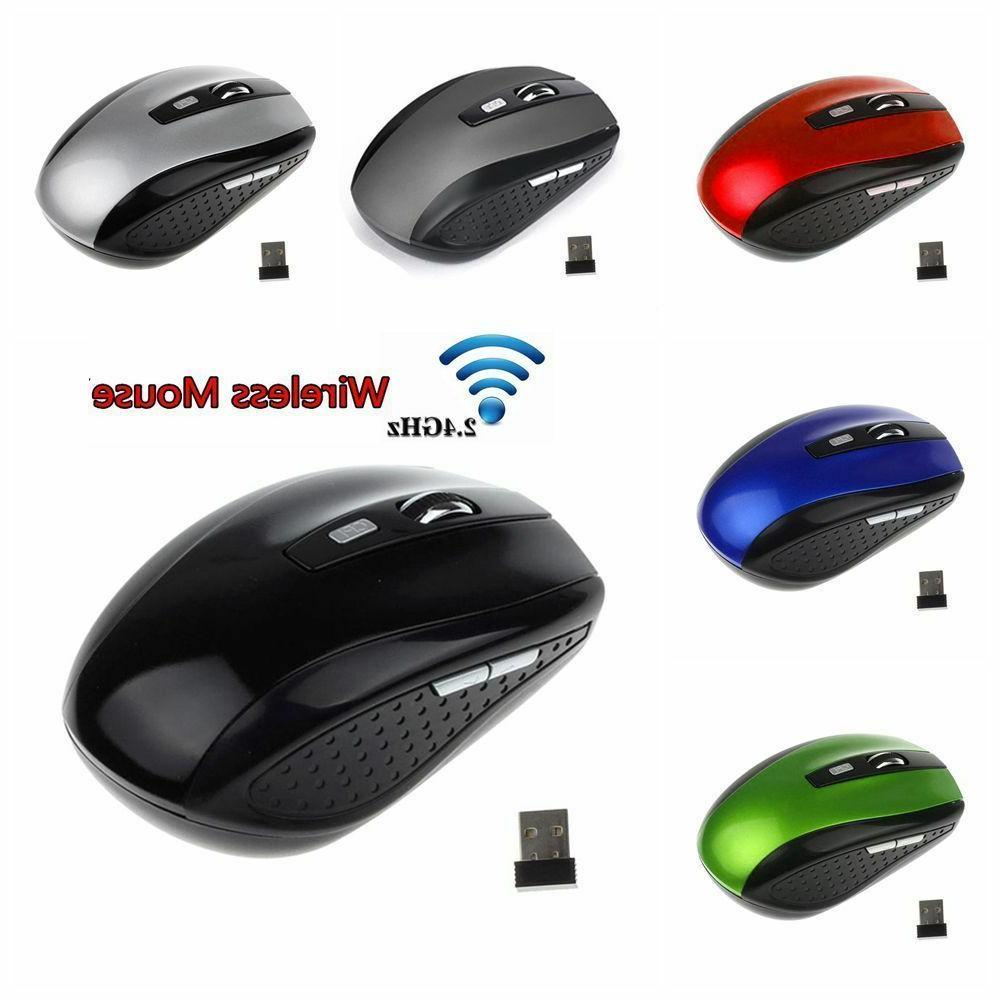 2.4GHz Cordless Mouse Mice & Receive Computer