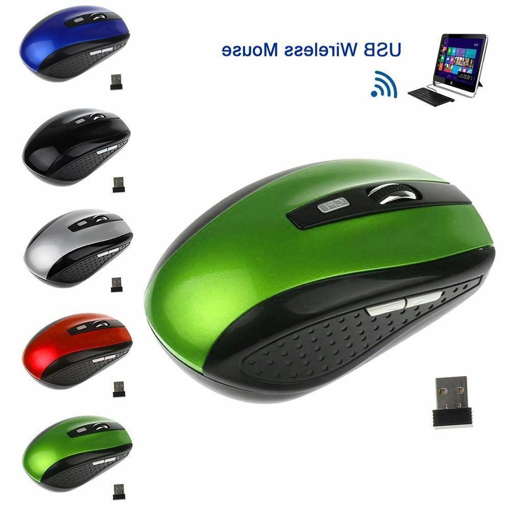 2.4GHz Cordless Mouse Mice & USB Receive Computer