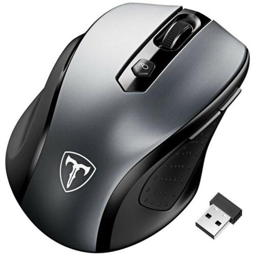 2.4GHz Wireless Mouse Mice for PC Laptop
