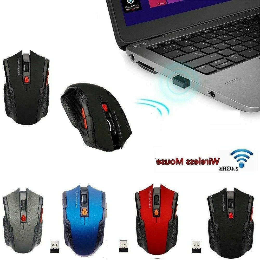 2 4ghz wireless cordless optical mouse mice