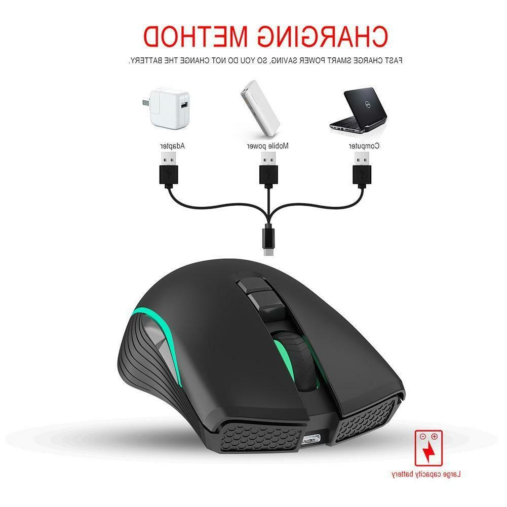 2.4GHz Wireless DPI 7 Button Gaming Mouse