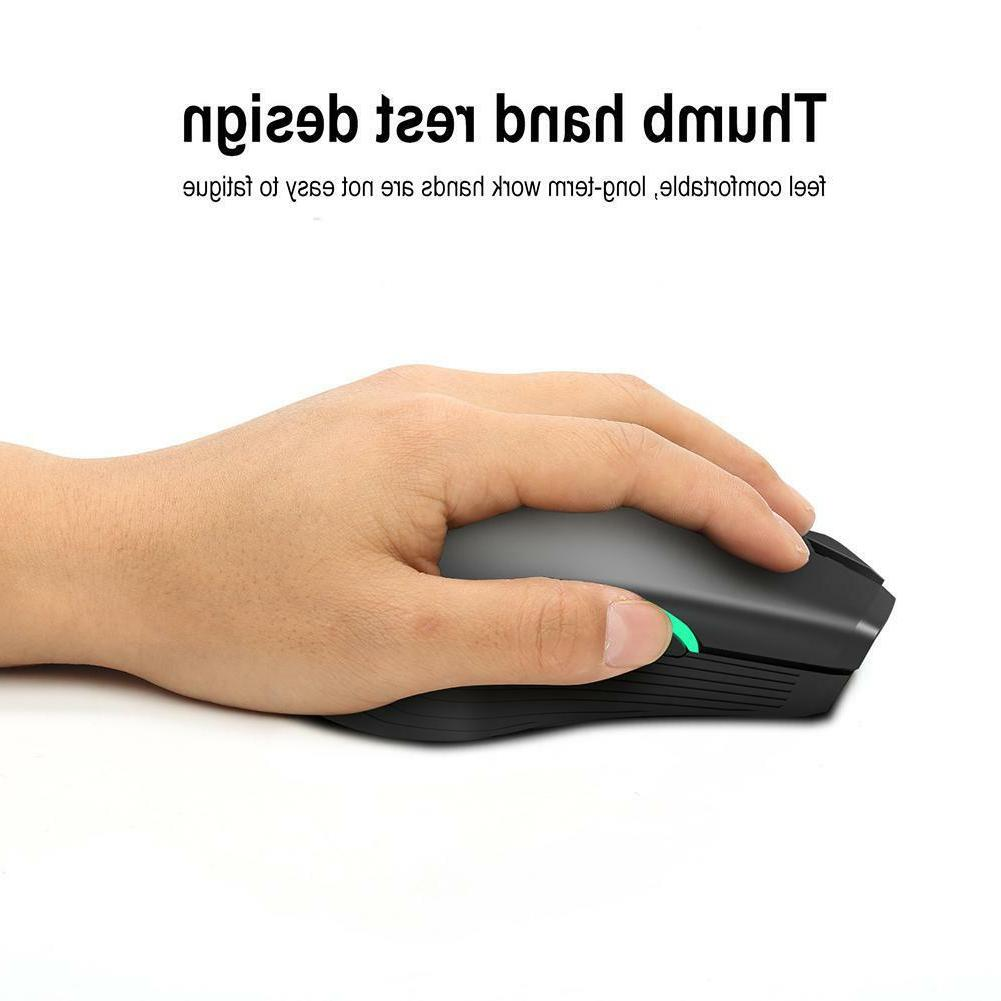 2.4GHz Wireless Mouse 2400 DPI 7 Button Gaming USB
