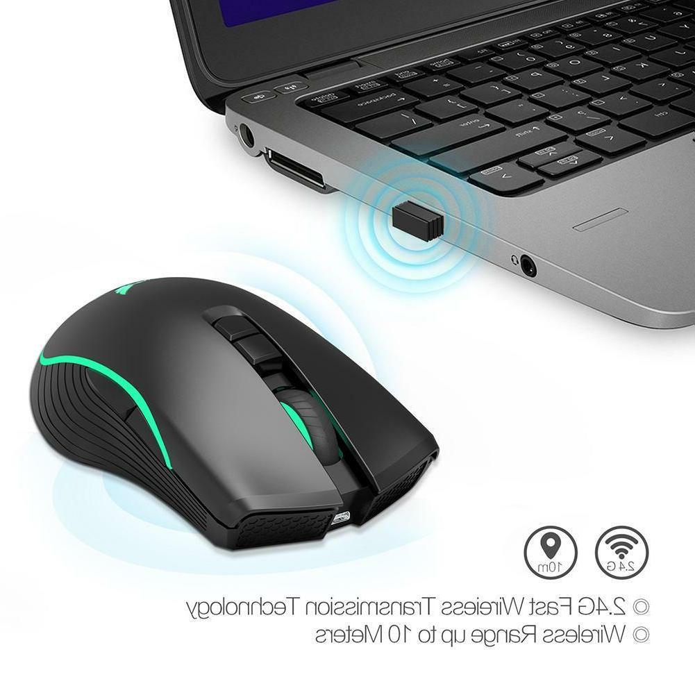 2.4GHz DPI 7 Button Gaming Mouse