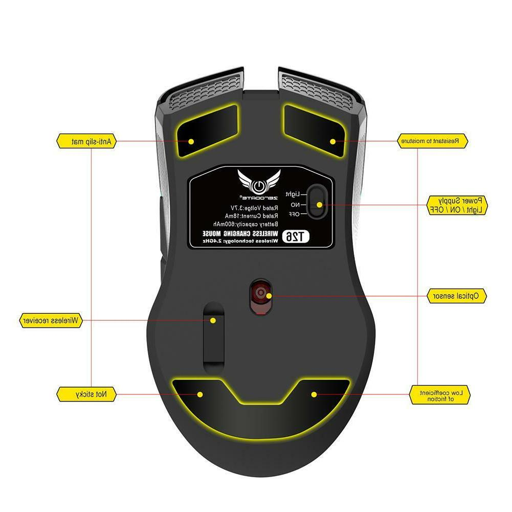 2.4GHz Mouse DPI 7 Gaming Rechargeable
