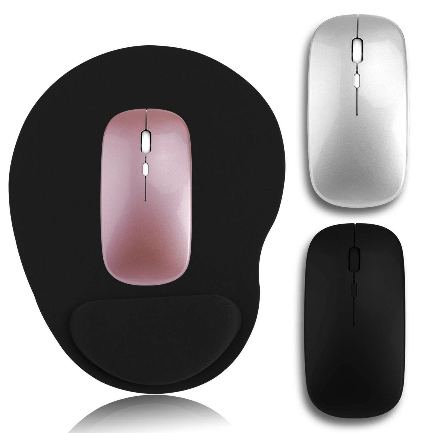 2 4ghz wireless mouse usb rechargeable optical