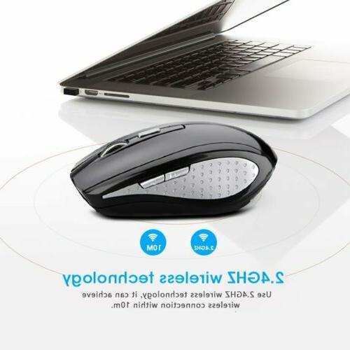 2.4GHz Optical Mouse 1600DPI For