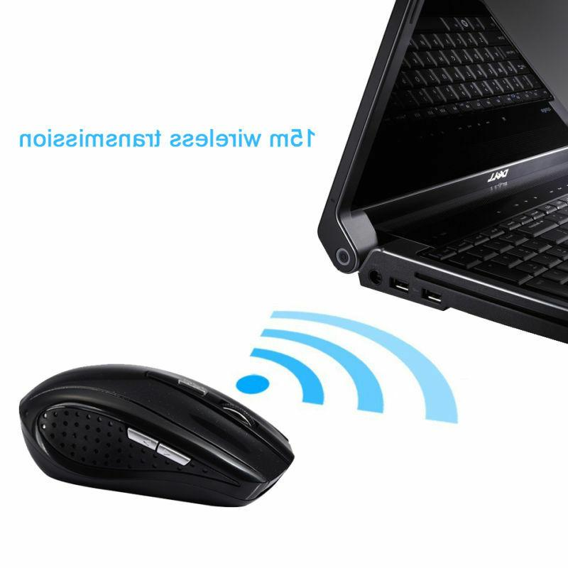 2.4GHz Wireless Mouse Mice Receiver For