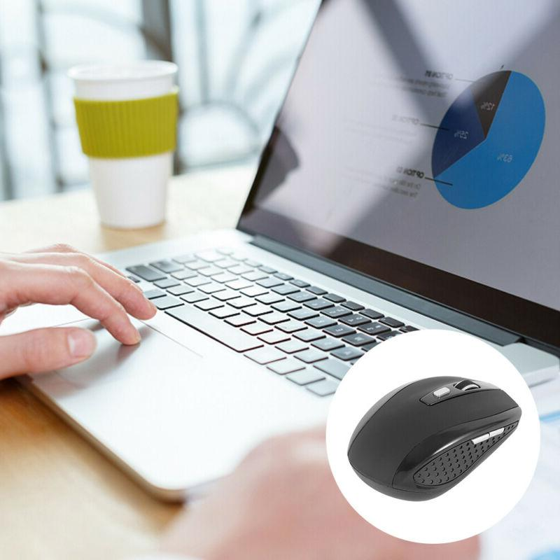 2.4GHz Wireless Mouse Mice For PC Laptop DPI USA