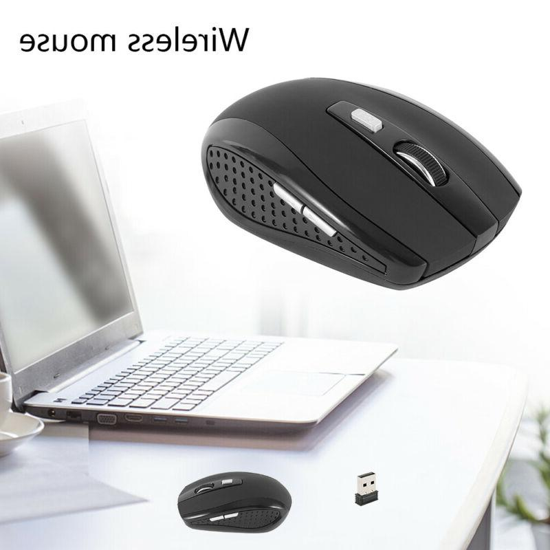 2.4GHz Wireless Optical Mouse & USB For DPI USA