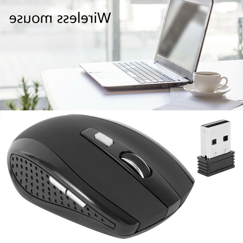 2.4GHz Wireless Optical Mouse & For Laptop Computer DPI USA