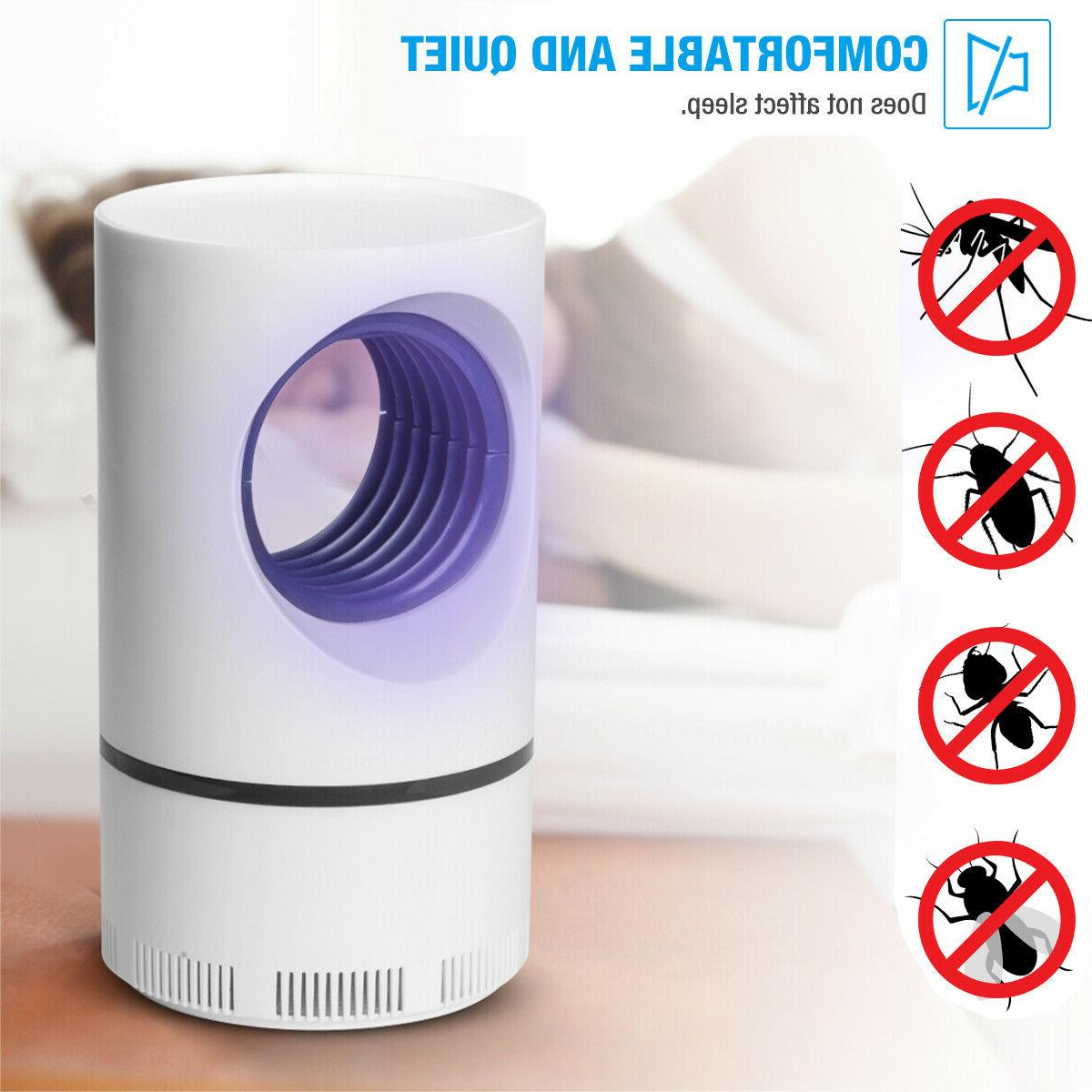 Safe Electric Mosquito Killer Lamp Indoor Fly Bug Insect Zap
