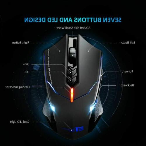 Wireless Mouse Optical Computer for Laptop