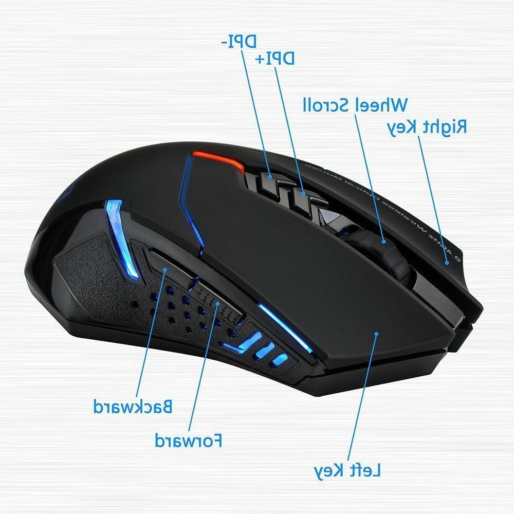 2400 Wireless Gaming Mouse Gamer