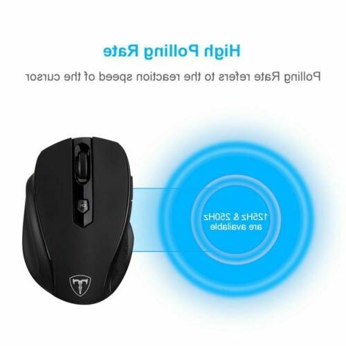 VicTsing 2400 Optical Mice USB Receiver for MAC