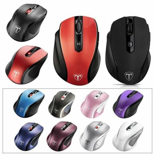 2400 dpi wireless optical mouse mice usb
