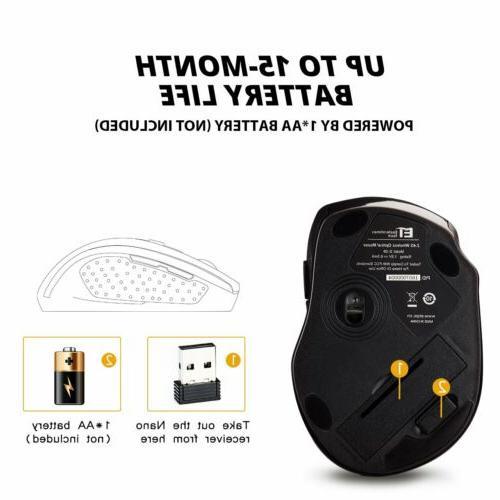 2400DPI Wireless Receiver for
