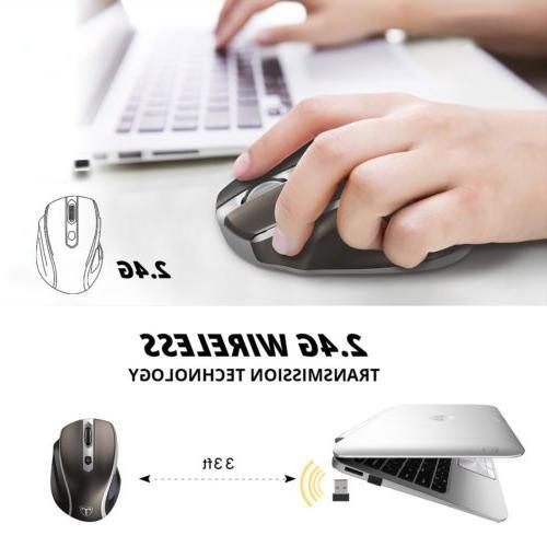 2400DPI Mouse Nano Receiver PC Laptop