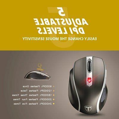 2400DPI Mouse Mice Receiver for