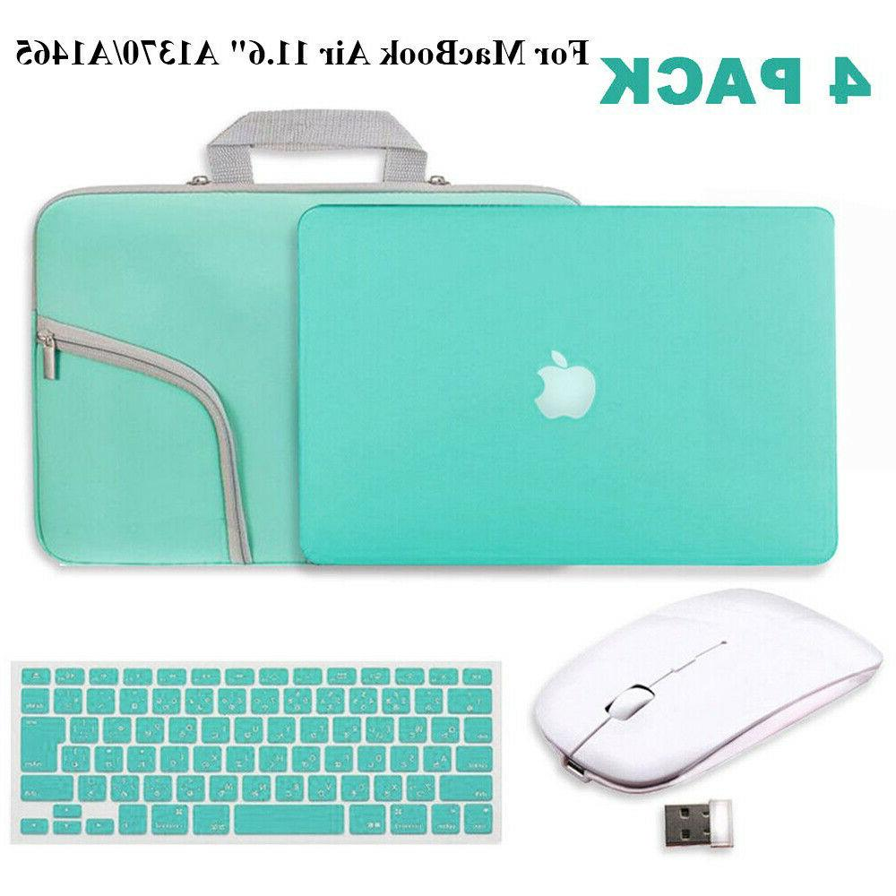 4Pack Hard Case , Keyboard Cover Wireless Mouse... for Apple