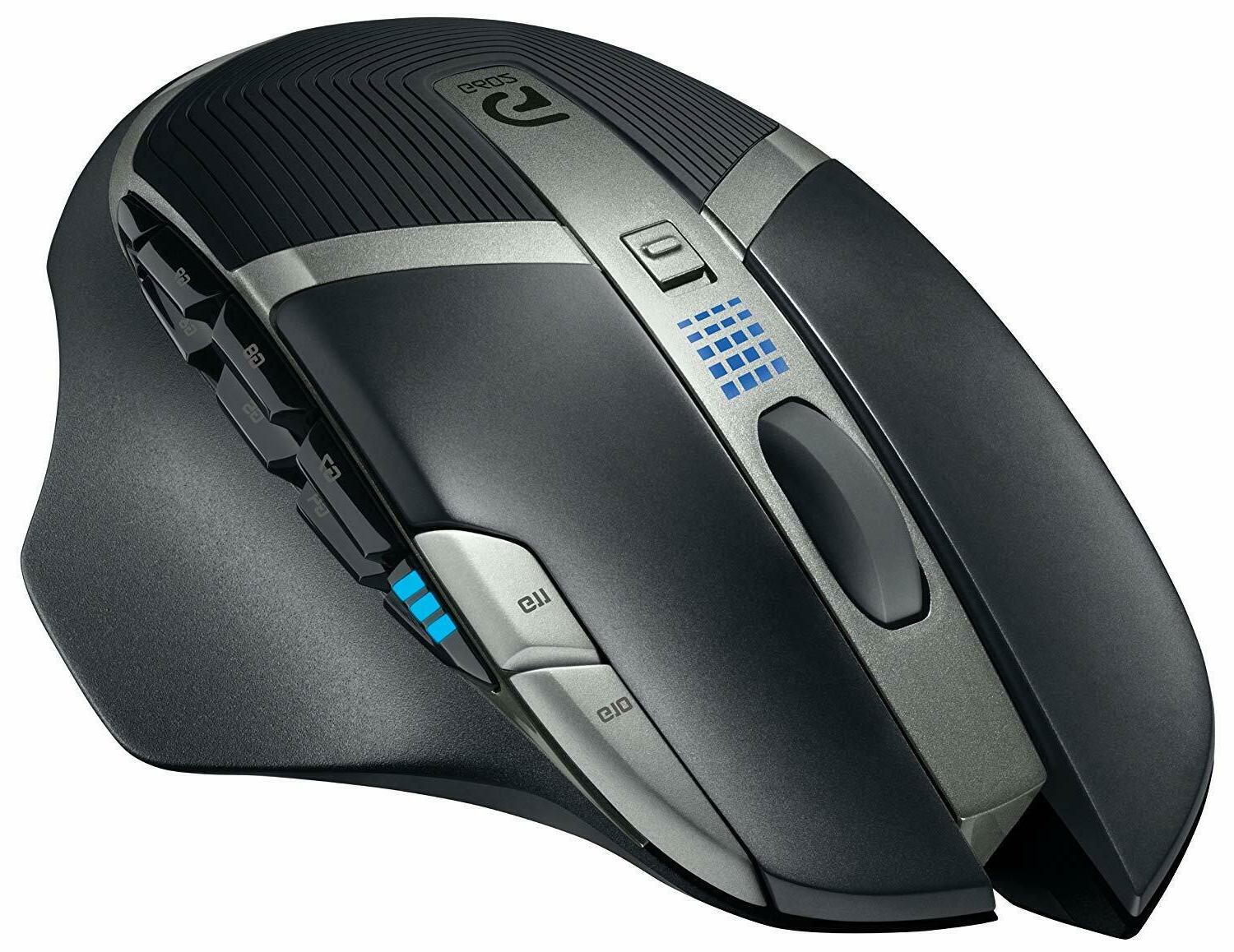 Logitech Lag-Free Wireless Mouse – Buttons, Up 2500 DPI