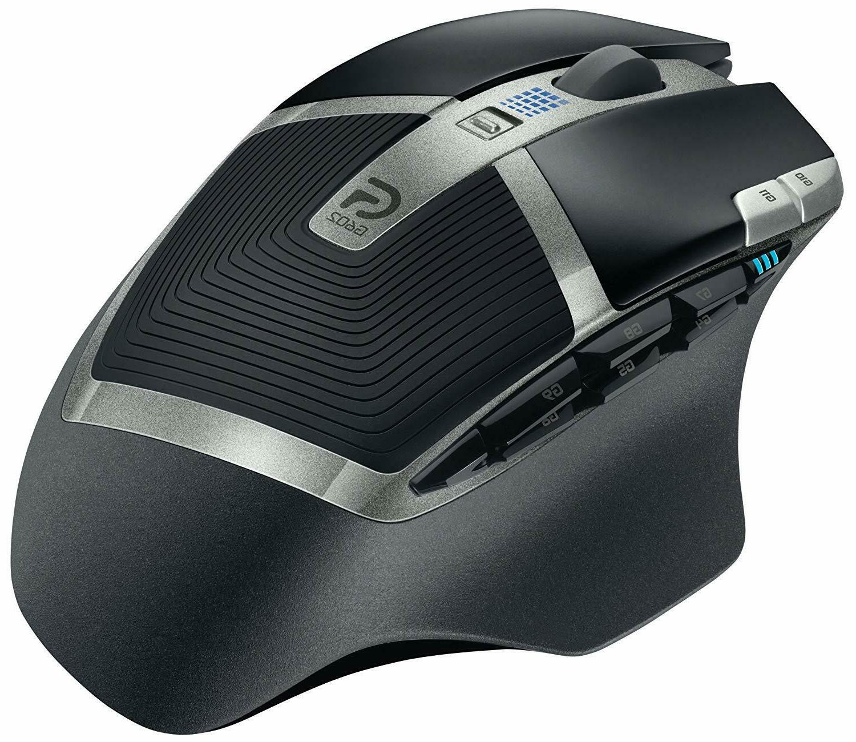 Logitech G602 Lag-Free Wireless Mouse – 11 Programmable Buttons, DPI