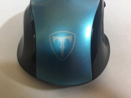 Blue VicTsing Wireless Optical Mouse