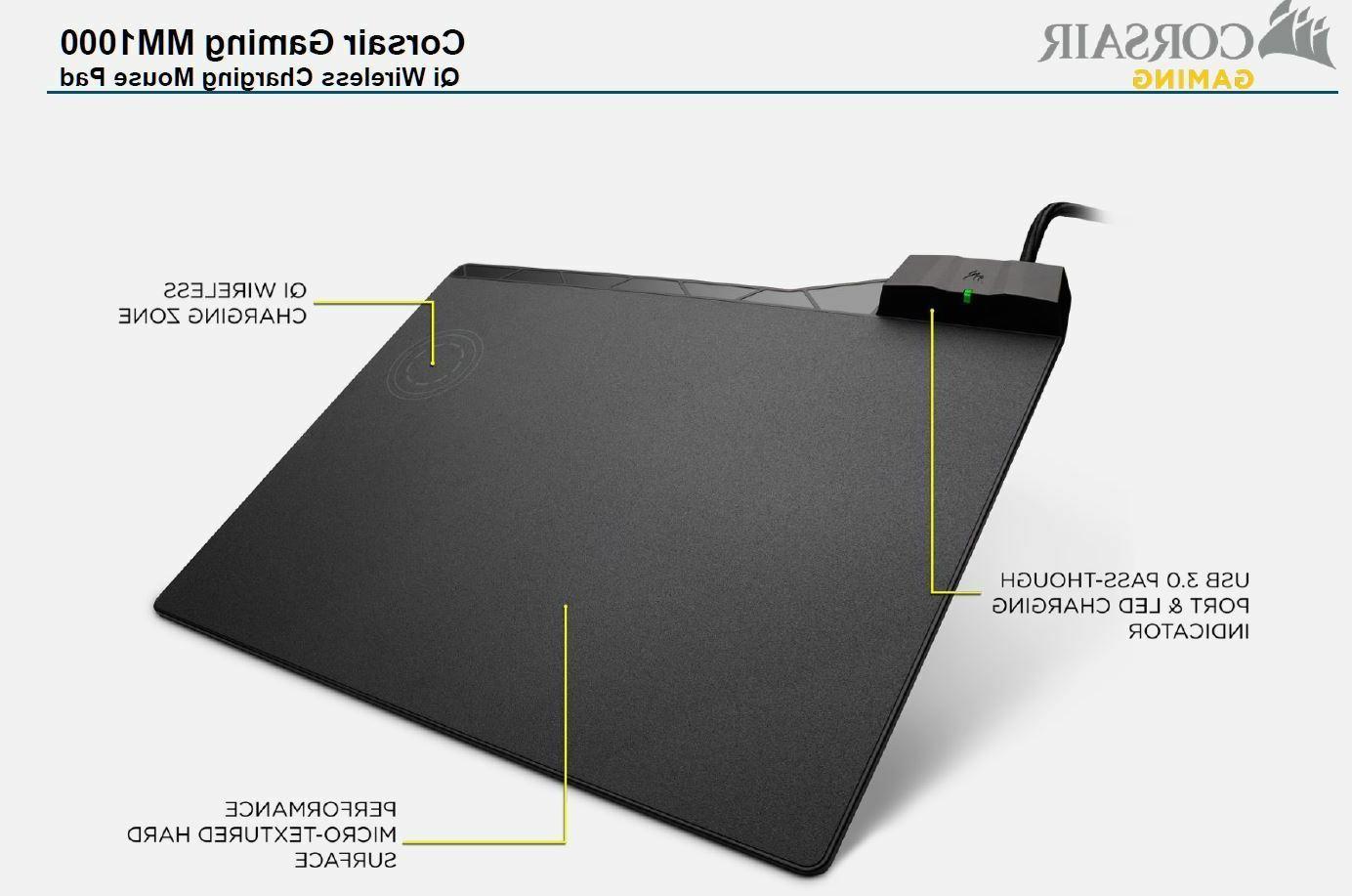 Corsair Charging Pad,USB Pass-through,CH-9440022-AP