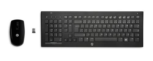 HP 2.4GHz Wireless Keyboard and
