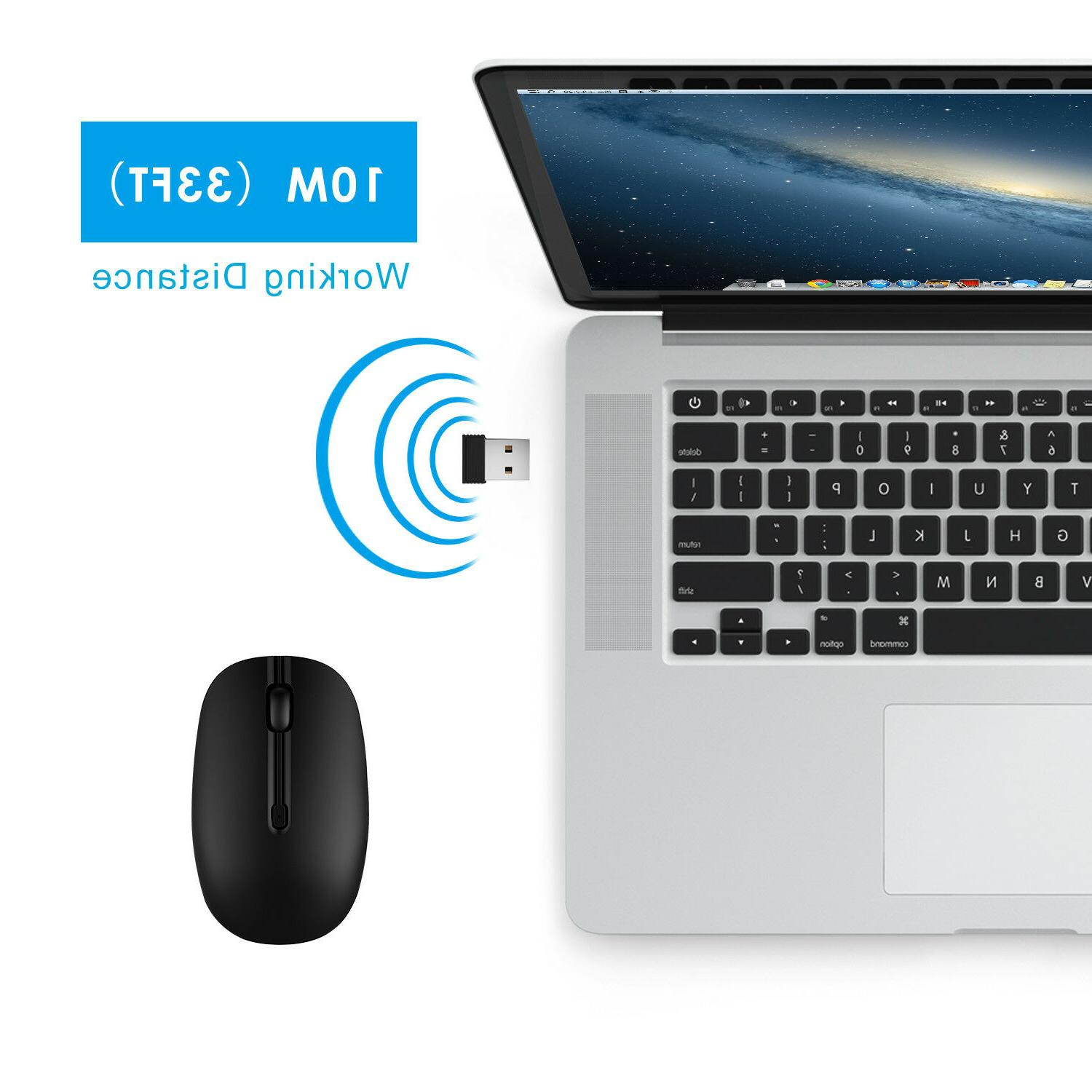 JETech Mobile Optical Mouse for PC Mac OS Tablet