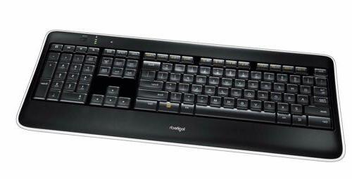 Logitech K800 Wireless Illuminated Keyboard — Backlit Keyb
