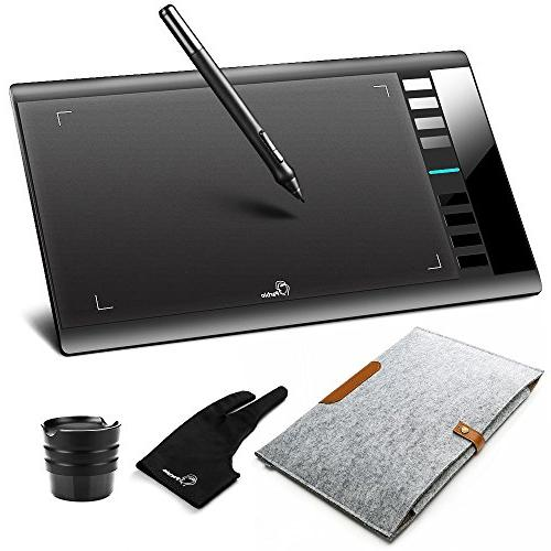 """Parblo A610 10"""" x 6"""" Graphic Drawing Pen Tablet 2048 Levels"""