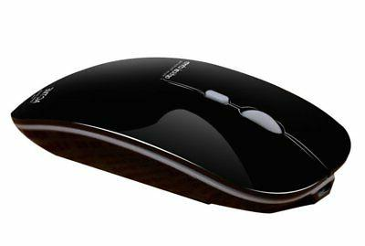 TENMOS T5 Wireless Rechargeable Mouse USB Optical Ultra Thin