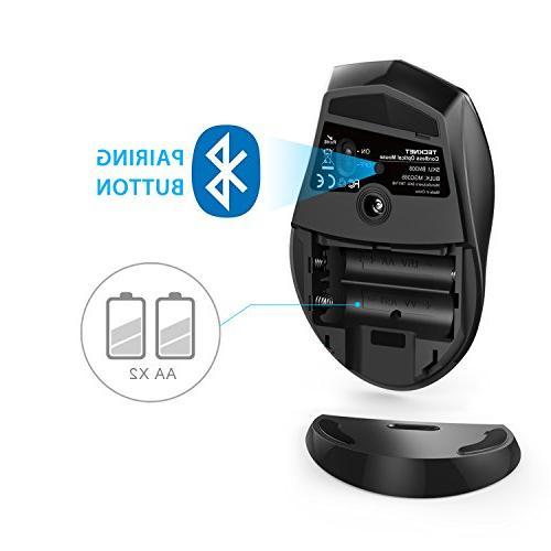 TeckNet Bluetooth Wireless Grey