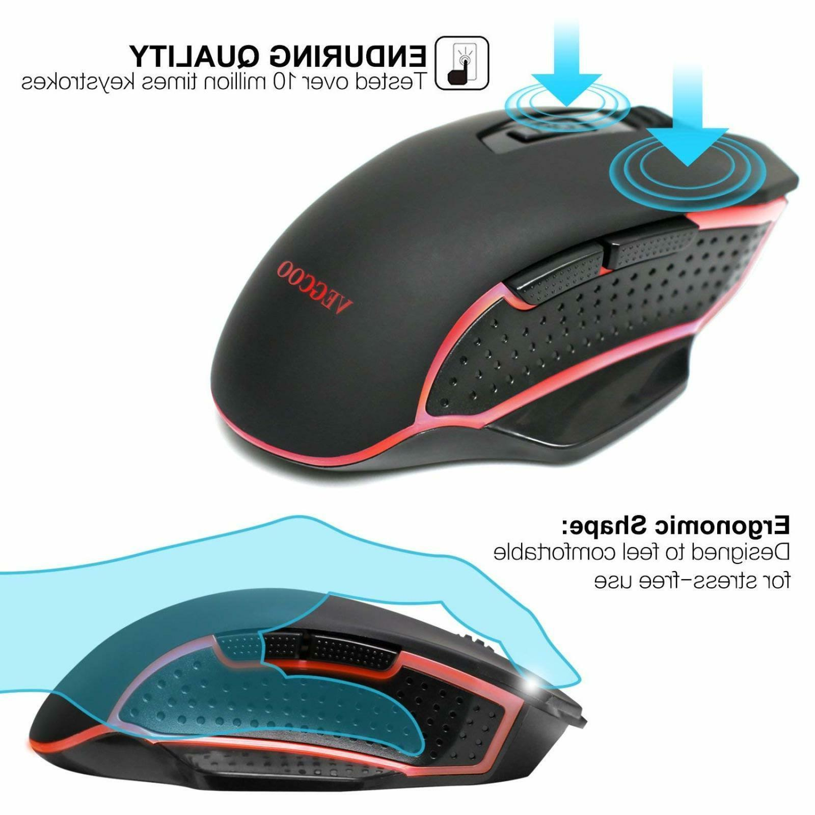 VEGCOO Mouse, With Adjustable Bu