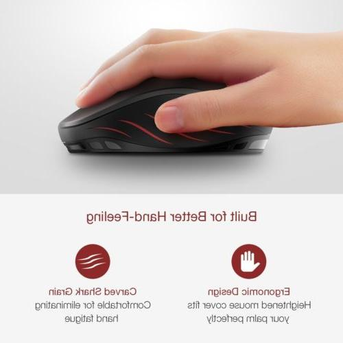 VicTsing Wireless Mice 2400DPI Mac Laptop