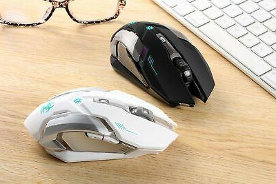 Wireless Rechargeable Mouse wit...