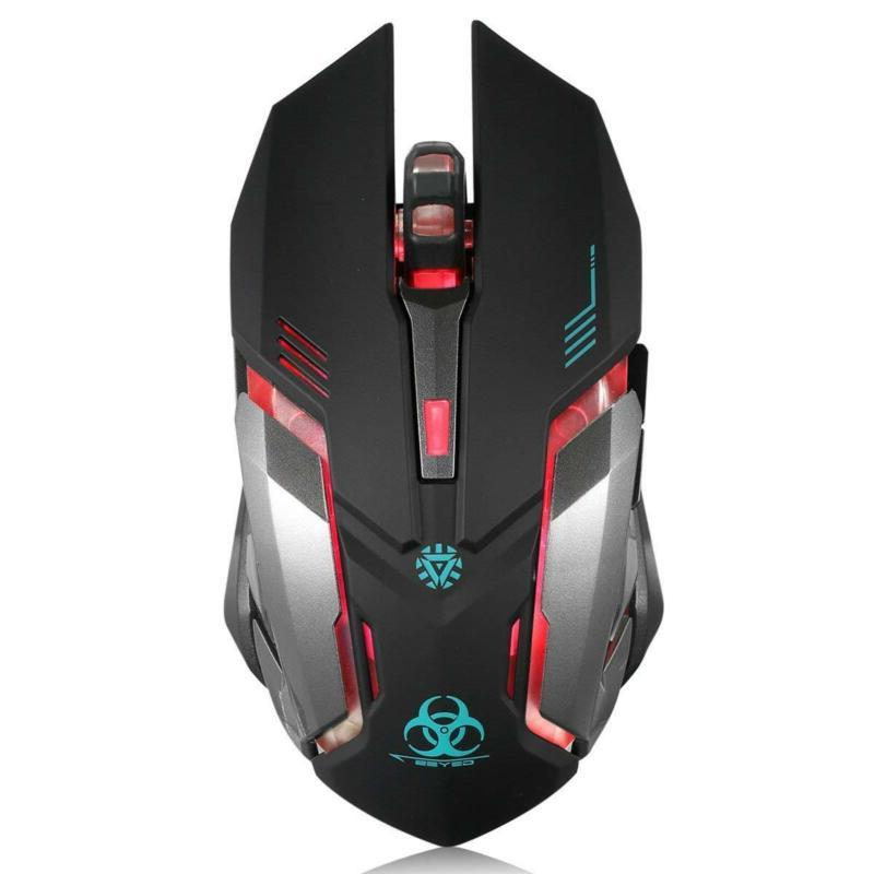 Wireless Mouse Vegcoo C9 Silent Click Rechargeable Mouse