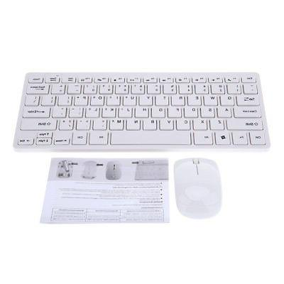 Wireless Mouse+Keyboard Set with Rubber Silicone Dirt/Dust M