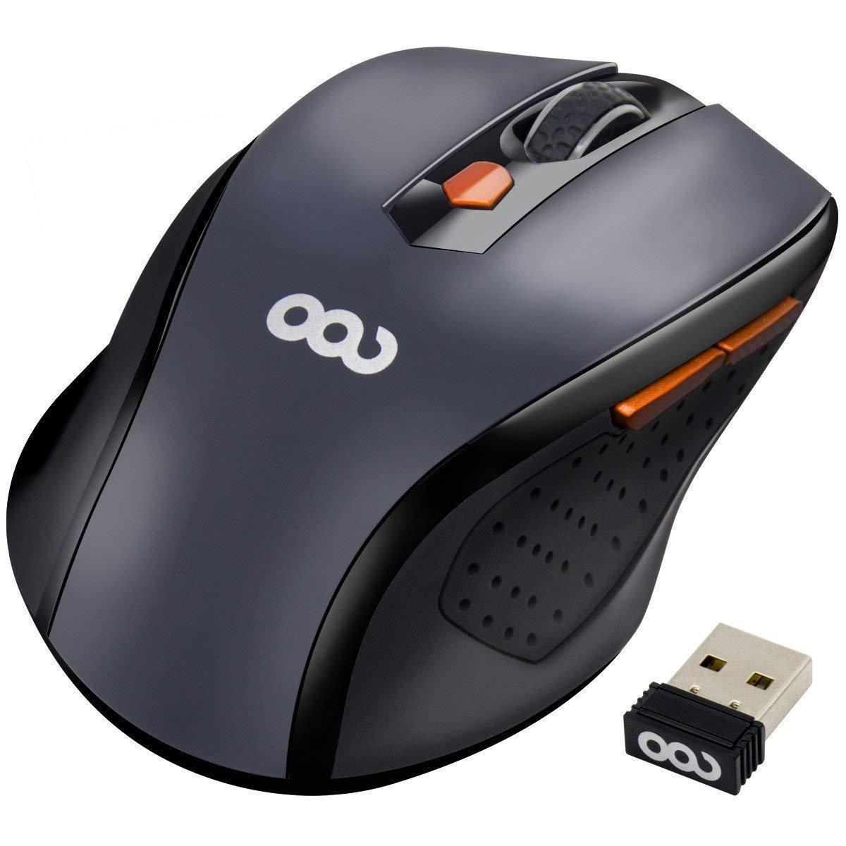 e1c3aae621c Tecknet Pro 2.4g Ergonomic Wireless Mouse   Wireless-mouse