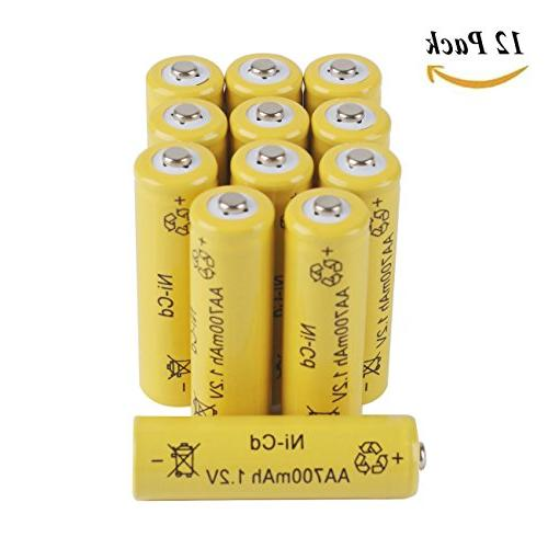 aa rechargeable batteries nicd battery