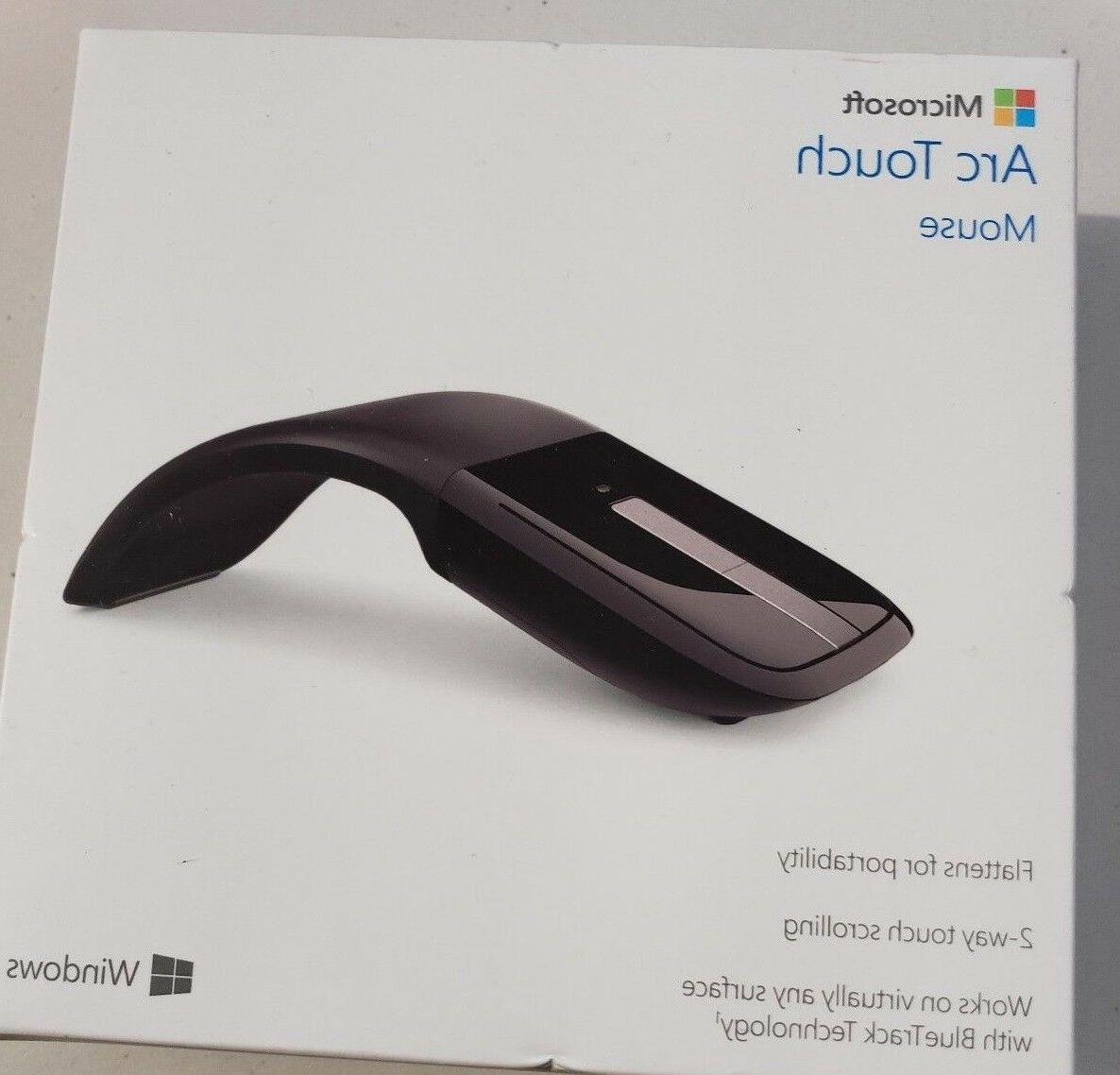 arc touch mouse black rvf 00052 model