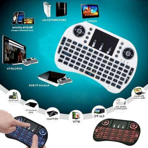 Backlight Wireless Keyboard Mouse Android