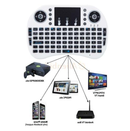 Backlight 2.4G Keyboard For Android Smart TV i8