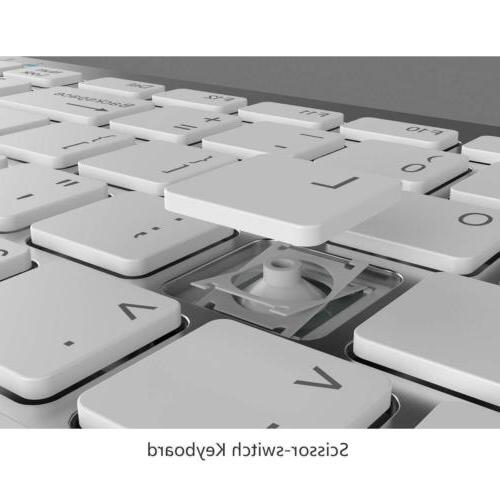 Bluetooth Wireless Keyboard Mouse for 1 Mac