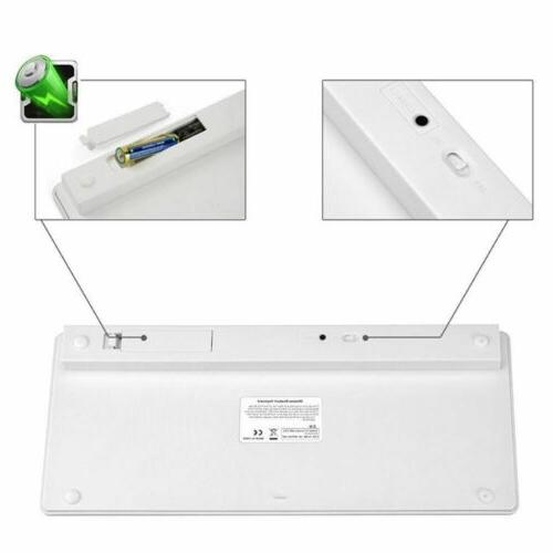 Bluetooth Wireless With Mouse for Apple iPad-1 1 Mac Macbook