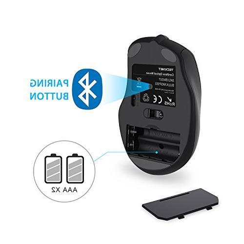 TeckNet 2600DPI Mouse, Life Battery 2600/2000/1600/1200/800DPI