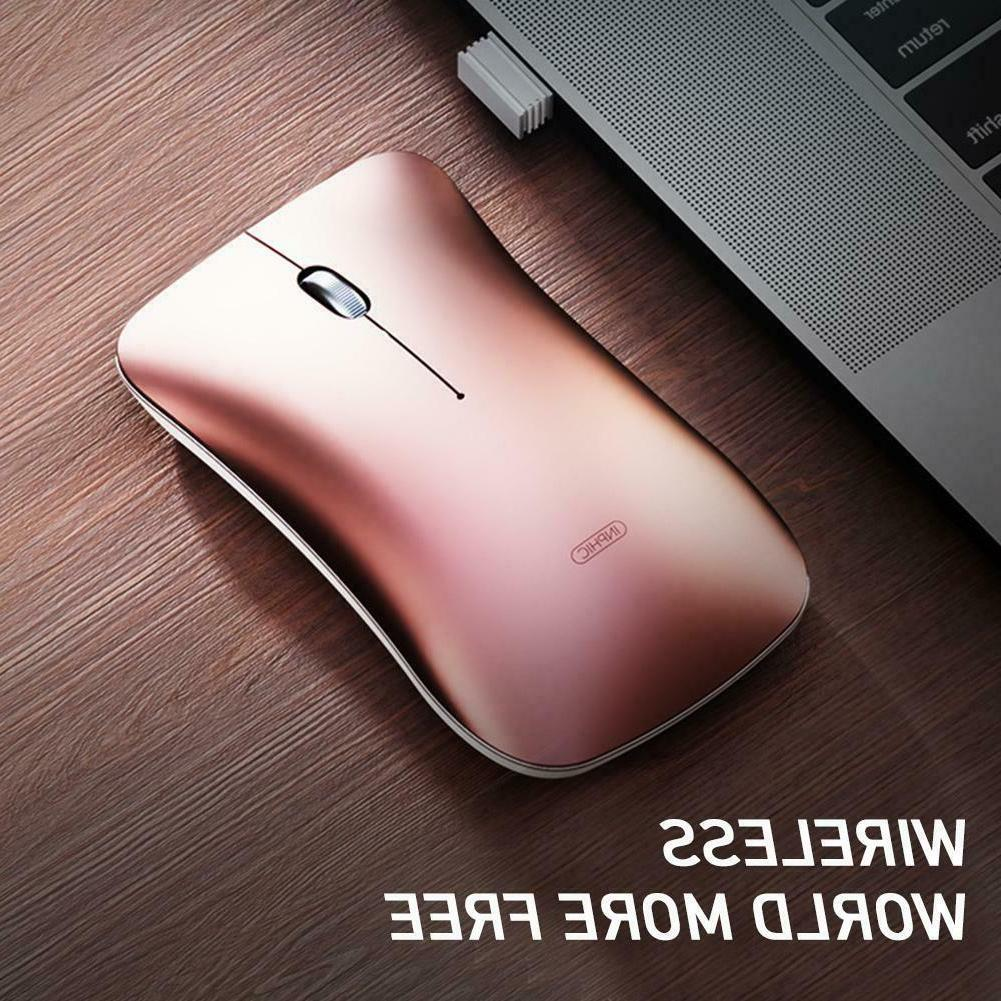 Bluetooth Mouse Rechargeable With USB receiver